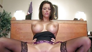 Brazzers Peta Jensen gets some lawyer dick Preview Image