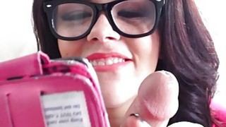 Mofos  Sexy teen takes some cock sucking selfies Preview Image