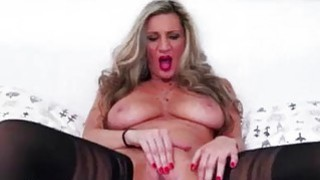 Busty European mature pleasures herself Preview Image