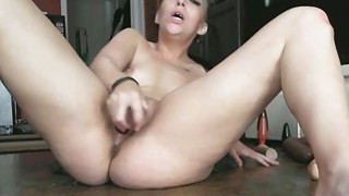 Teens Love to Squirt with Huge Toys Preview Image