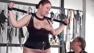 Bbw slave RosieB tit tortured and sadistic amateur Preview Image