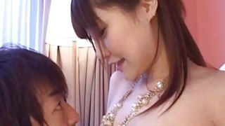 Rowdy Misuzu gets her wet pussy licked passionately_and_sucks dick Preview Image