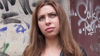 Fake agent bangs Russian babe_in_public Preview Image