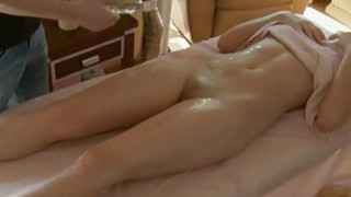 Rubber_is_soothing_beautys_body_with_oil_massage Preview Image