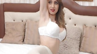 Blonde College Babe Masturbates First Time on Cam  cumwithslutscom Preview Image