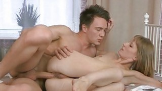 Lovely hottie gets her anal lanced by naughty jock Preview Image