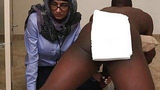 Teen arab hottie is fully satisfied Preview Image