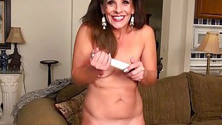USAwives Penny Priet Awesome Solo Play Porn Video Preview Image