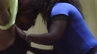Magnificent African lesbians give each other amazing_oral pleasure in the bedroom Preview Image