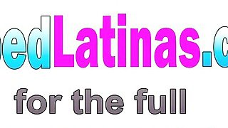 Petite Latina Cyrus Blow Drops Clothes And Mounts Big_Hard Dick Preview Image
