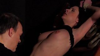 BDSM_Hardcore_Spanking_Sex_slave_swallows_cum_sex Preview Image