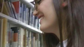 Library blowjob_with Latina_coed Preview Image