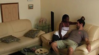 Hot African babe pounded by a big cocked stud hard Preview Image