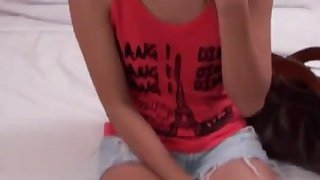 A slutty Thai brunette teen films sex video with a horny tourist Preview Image