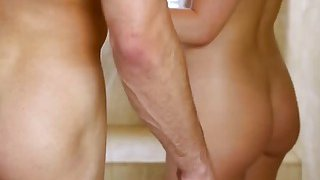 A wonderful blonde babe Abby Cross gets banged hard after giving an erotic massage Preview Image
