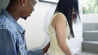 Superb hot Asian babe fucked hard by a black man Preview Image