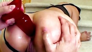 Double penetration for slutty_hottie on couch Preview Image