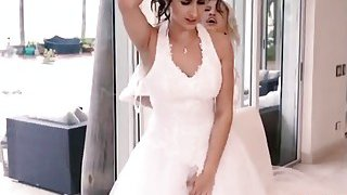 Bride Ashley Adams Receives Long Dong_Roughly Preview Image