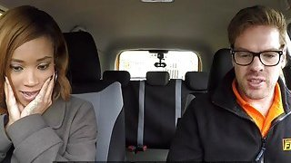 Big booty ebony_bangs driving instructor Preview Image