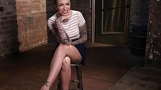 Tattooed crotch roped_slave hard spanked Preview Image