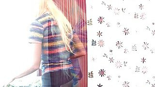 A delightful blonde teen_Anna Porter_enjoys rough banging with her step brother Preview Image