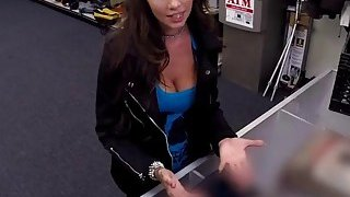 Sexy lovely Barista loves to suck a huge hard dick Preview Image