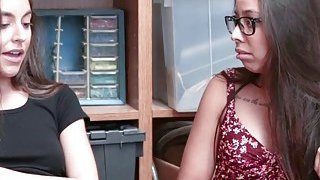 Arielle Faye and Jasmine Summers shares blowjob Preview Image
