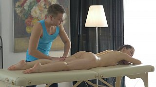 Romantic massage turns naughty Preview Image