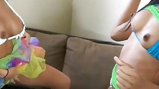 Two sexy big boobs college teens fucked by pervert men Preview Image