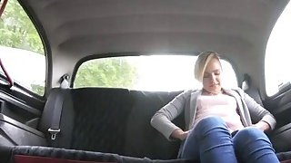 Beautiful blonde babe fucked by nasty driver in the cab Preview Image