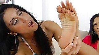 Strapon hot tube lesbian strap on dildo orgasms 1