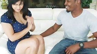 A very hot Asian chick Mia Li gets her tight butt fucked hard by horny black man Preview Image