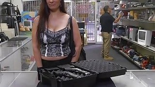 Big ass Latina milf fucked from behing in the pawnshop Preview Image