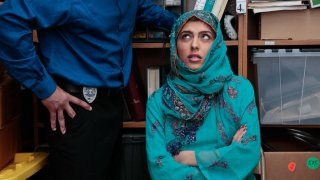 Teen caught concealing goods in her Hijab Preview Image