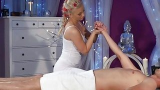 Masseuse Cayla Lyons Enjoys Stroking Long Rod Preview Image