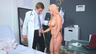 Christina Shine sucking huge_Dr. Danny D's cock Preview Image