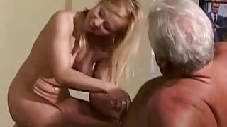 Vintage Old Young  Teenie Girl Fucked by 2 grandz Preview Image