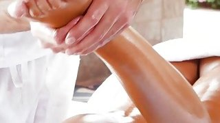 Incredible MILF with big tits gets fucked_by a masseuse Preview Image