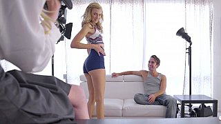 Teen blonde gets_casted Preview Image
