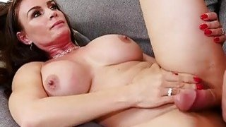 Slim brunette mom Diamond Foxxx fucked by her daughter's boyfriend Preview Image