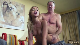 Old Man Dominated sexy hot babe old young femdom Preview Image