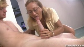Milf And Teen Suck And Slobber A Big Cock Preview Image