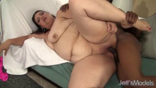 A Black Dude Fucks Plumper Angelina and Cums in Her Face Preview Image