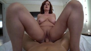 Big butt mature babe pleasures hard young prick in POV Preview Image