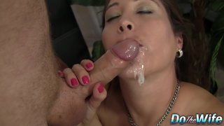 Long Haired Jamie Lynn Skye Auditions Her Mouth and Pussy for a Casting Preview Image