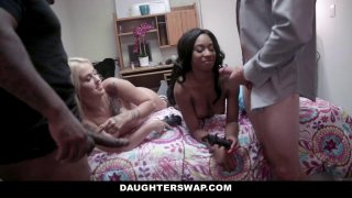 DaughterSwap Gamer Nerds_Fuck Each Others Dads Preview Image