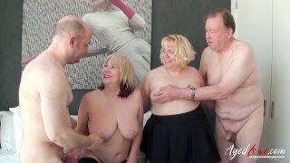 AgedLovE Hot Mature Trisha and Lexie_Cummings Grou Preview Image