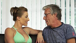 Teen swimmer seducing_her BF's father Preview Image