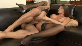 Latino maid_Madelyn Marie rides on cock Preview Image