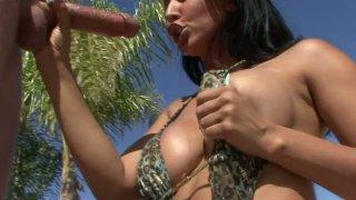 Exotic_slut_Isis_Love_in_sexy_bikini_blows_tourist's_cock Preview Image